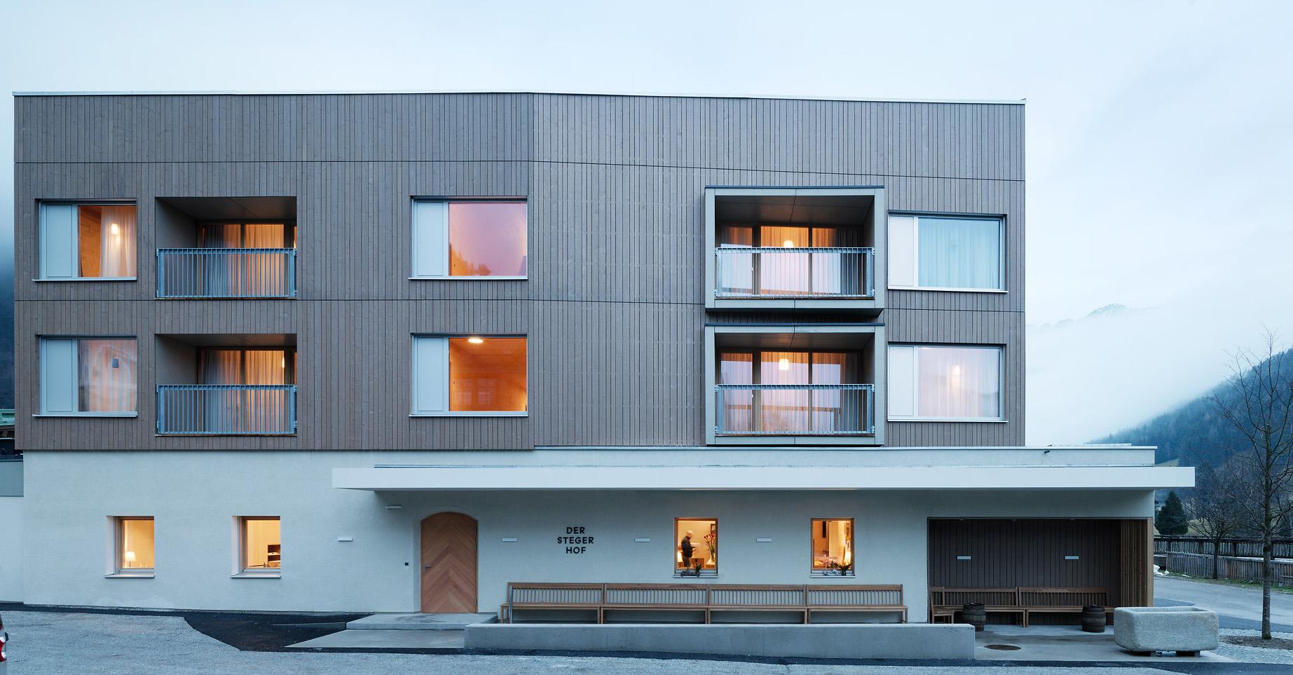 Hotel Stegerhof Architekt Ederarch Architekturbüro Graz